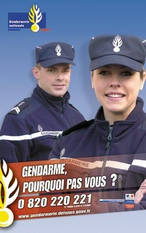 gendarme a mon domicile